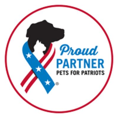 proud partner pets for patriots